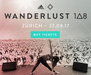 Wanderlust 108 in Zürich – 27.08.2017